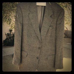 Vintage Gray Blue Christian Dior Monsieur, 44L